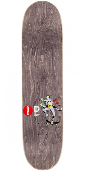 Almost Joker Split Face Mullen Skateboard Deck - 8.125""