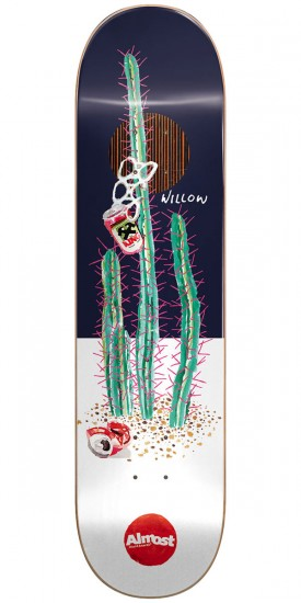 """Almost Junk On My Prick IP Skateboard Deck - Willow - 8.375"""""""