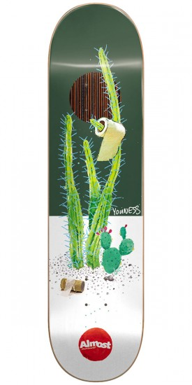 Almost Junk On My Prick IP Skateboard Deck - Youness Amrani - 8.25""