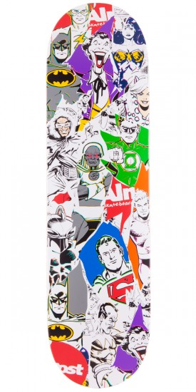 Almost Justice League Skateboard Deck - 8.25""