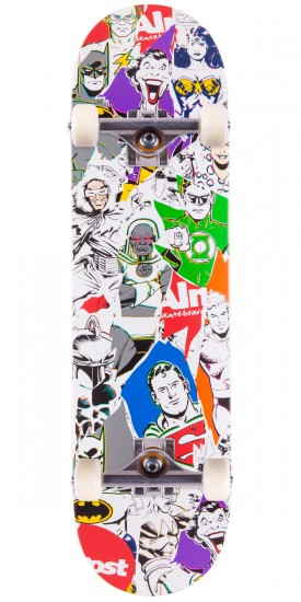 Almost Justice League Skateboard Complete - 8.25""