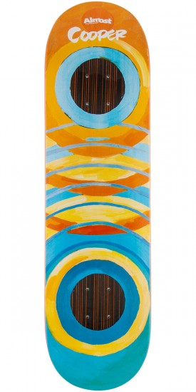 """Almost Lotti Painted Rings Impact Cooper Wilt Skateboard Deck - 8.25"""""""