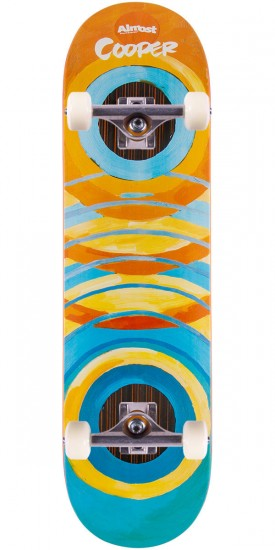 """Almost Lotti Painted Rings Impact Cooper Wilt Skateboard Complete - 8.25"""""""