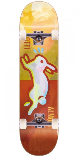 Almost Lotti Rabbit V2 R7 Skateboard Complete - Burnt Orange - 8.25""