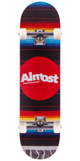 """Almost Mexican Blanket Skateboard Complete - 8.0"""""""