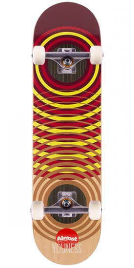 Almost OG Impact Rings Impact Skateboard Complete - Youness Amrani - 8.0""