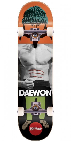 Almost Remix Dude IL Skateboard Complete - Daewon Song - 8.25""