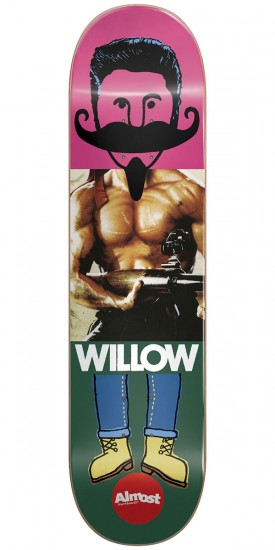 Almost Remix Dude IL Skateboard Deck - Willow - 8.0""