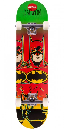 Almost Daewon Batman Fade Skateboard Complete - 7.75