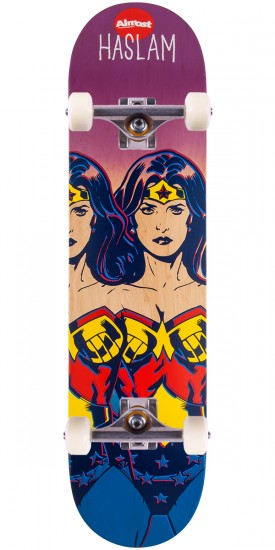 Almost Haslam Wonder Woman Fade Skateboard Complete - 7.75