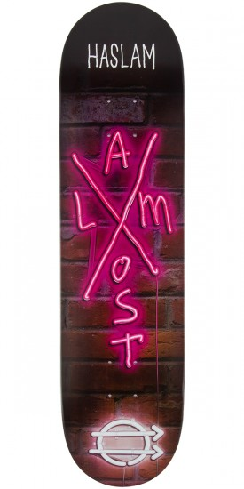 Almost Haslam X-Neon Skateboard Deck - 8.0""