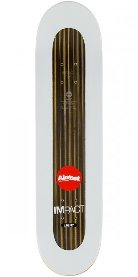 """Almost Willow Insta Gold Impact Light Skateboard Deck - 8.0"""""""