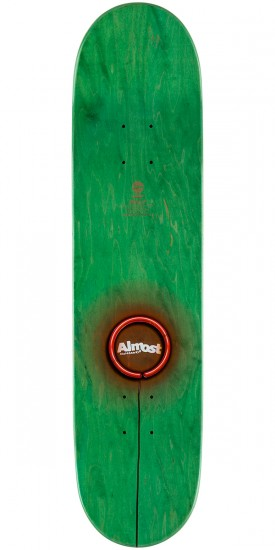 Almost Youness X-Neon Skateboard Deck - 7.75""