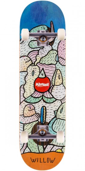 """Almost Willow Lucas Beaufort Impact Plus Skateboard Complete - 8.375"""""""