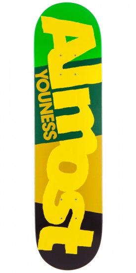 Almost Youness C-Block Skateboard Deck - 7.75""