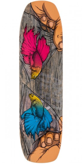 Anti-Hero Alpha Beta Barney Skateboard Deck - 8.5""