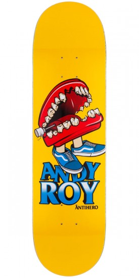 Anti-Hero Andy Roy Shatter Box Skateboard Deck - 8.28""