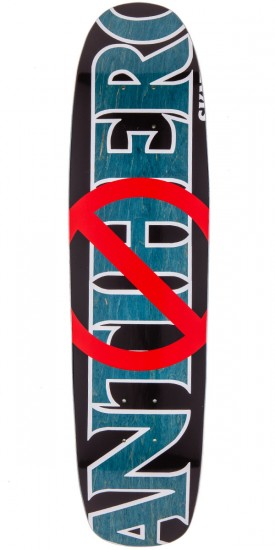 "Anti-Hero Anti Anti Cruiser Skateboard Deck - 7.65"" - Blue Stain"