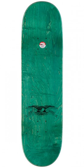 Anti-Hero Anti Anti Skateboard Deck - Brown Stain - 8.25""