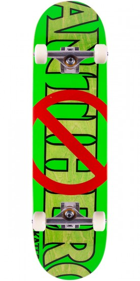 Anti-Hero Anti Anti Skateboard Complete - Green/Green - 8.5""