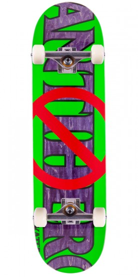 Anti-Hero Anti Anti Skateboard Complete - Green/Purple - 8.5""