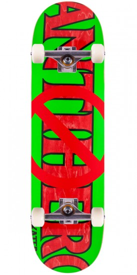Anti-Hero Anti Anti Skateboard Complete - Green/Red - 8.5""