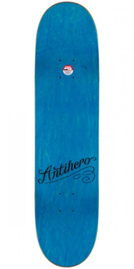 Anti-Hero Chris Pfanner Wild Jokers Skateboard Deck - 8.06""