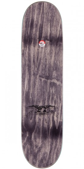Anti-Hero Grant Taylor Dirty Rotten Skateboard Deck - Black Stain - 8.25""