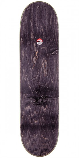 """Anti-Hero Jeff Grosso Pass A-Fist Skateboard Deck - Brown Stain - 8.4"""""""