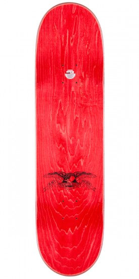 """Anti-Hero Jeff Grosso Pass A-Fist Skateboard Deck - Teal Stain - 8.4"""""""