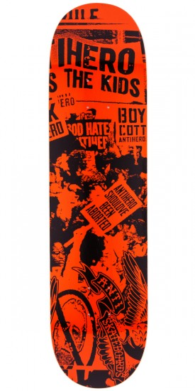 Anti-Hero Protest PP Skateboard Deck - 8.06""