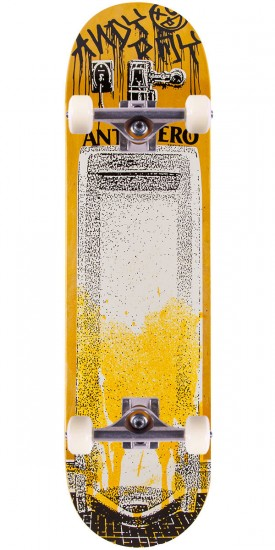 "Anti-Hero Roy Public Urinal Skateboard Complete - 8.40"" - Yellow"