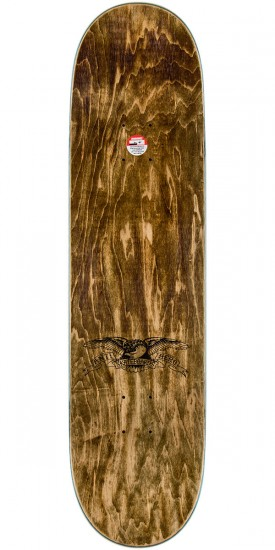 """Anti-Hero Taylor Business as Usual Skateboard Deck - 8.25"""" - Natural Stain"""