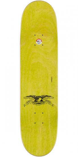 """Anti-Hero Trujillo Business as Usual Skateboard Complete - 8.06"""" - Teal Stain"""