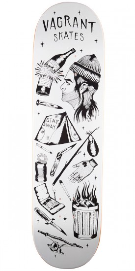 Vagrant Gypsy Traveler Skateboard Deck - 8.60""