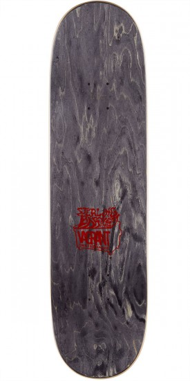 Vagrant Rags To Rags Skateboard Complete - Purple - 8.50""