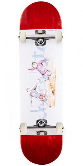 """Chocolate Brenes Tradiciones Skateboard Complete - 8.00"""" - Red Stain"""