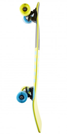 Goldcoast The Jetty Blue Longboard Cruiser Complete