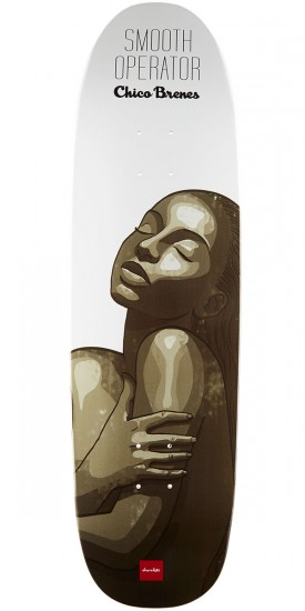 Chocolate Brenes Smooth Operator Skateboard Deck - 9.00""