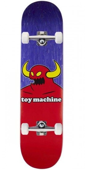 """Toy Machine Monster Skateboard Complete - Purple Stain - 7.75"""""""