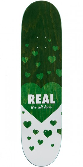"""Real Chima Favorite Skateboard Complete - 8.18"""" - Teal Stain"""