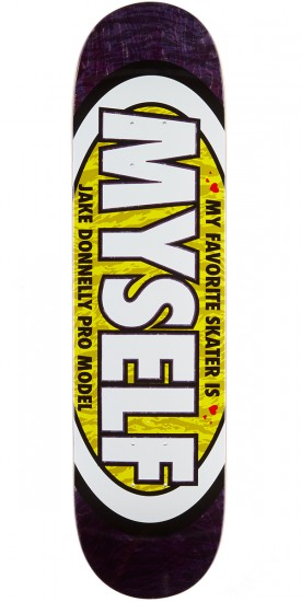 """Real Donnelly Favorite Skateboard Deck - 7.90"""" - Purple Stain"""