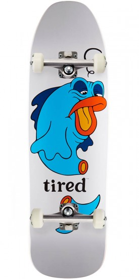 """Tired Fish on Stumpnose Skateboard Complete - 9.00"""""""