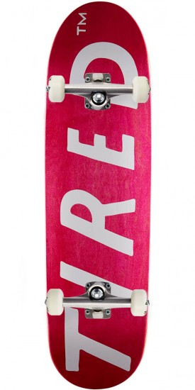 Tired Upsercase Logo on Deal Skateboard Complete - 8.75""