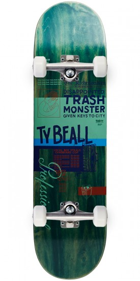 Scumco TY Beall Professional Skateboard Complete - 8.125""