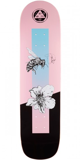 Welcome Adaptation on Bunyip Skateboard Deck - Pink - 8.0""