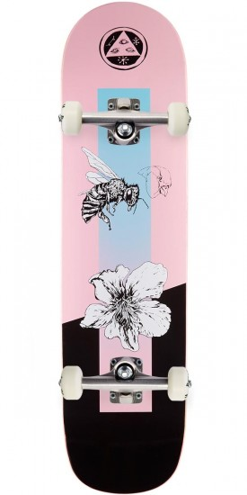 """Welcome Adaptation on Bunyip Skateboard Complete - Pink - 8.0"""""""