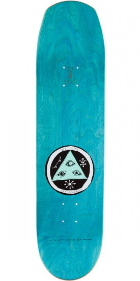 """Welcome Cage-Free Heart on Helm of Awe 2.0 Skateboard Complete - Lavender - 8.38"""""""