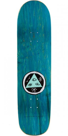 """Welcome Haunted Horse on Big Bunyip Skateboard Complete - White/Teal - 8.5"""""""