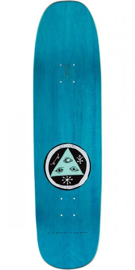 Welcome Light-Headed on Stonecipher Skateboard Deck - Pink/Blue - 8.6""